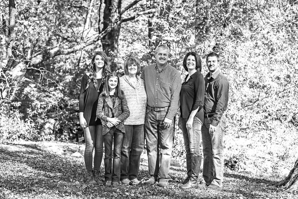 Blair Family 2015-1b&w