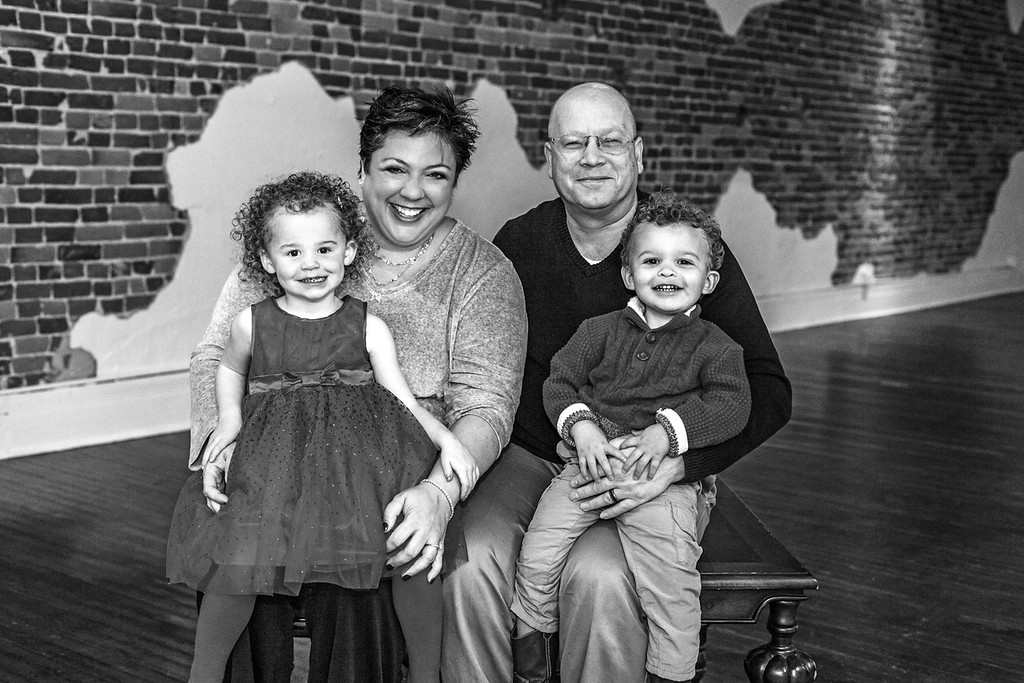 Brigdon Family 2015-11b&w