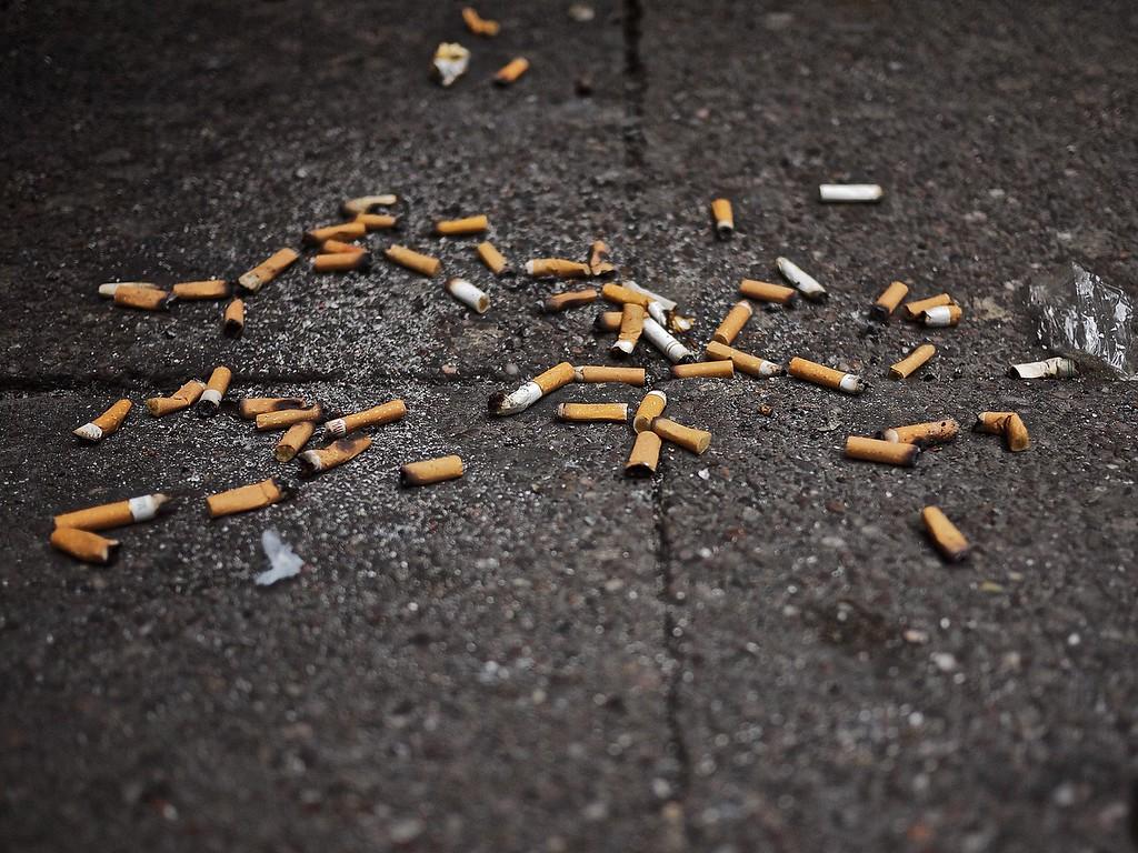 Smokers' corner