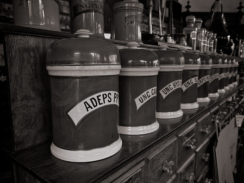 Inside the Victorian Pharmacy