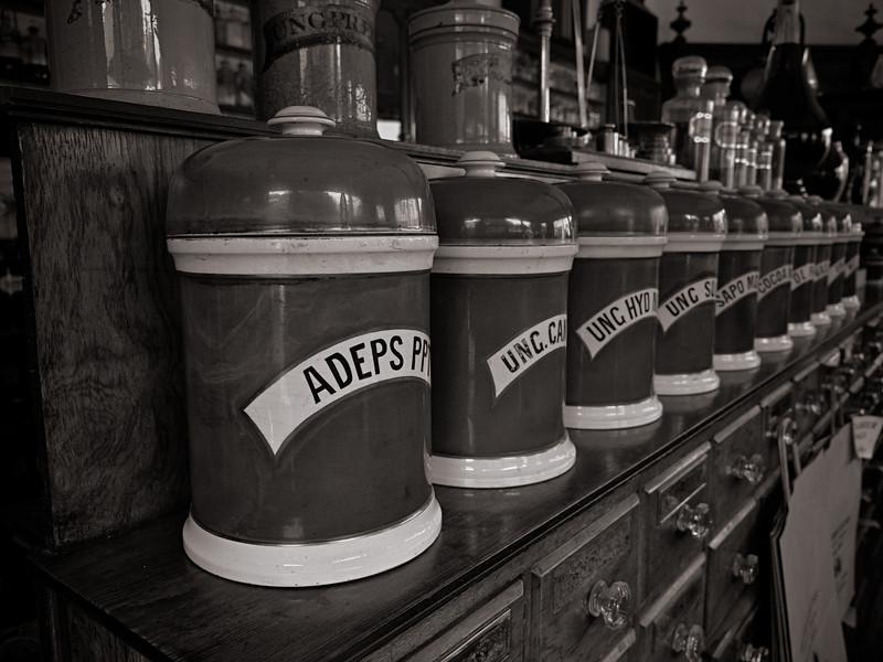 Inside the Victorian Pharmacy