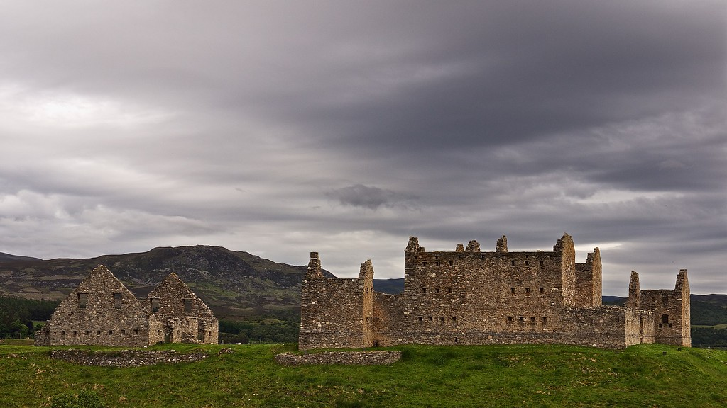 Ruthven Barracks, nr Kingussie
