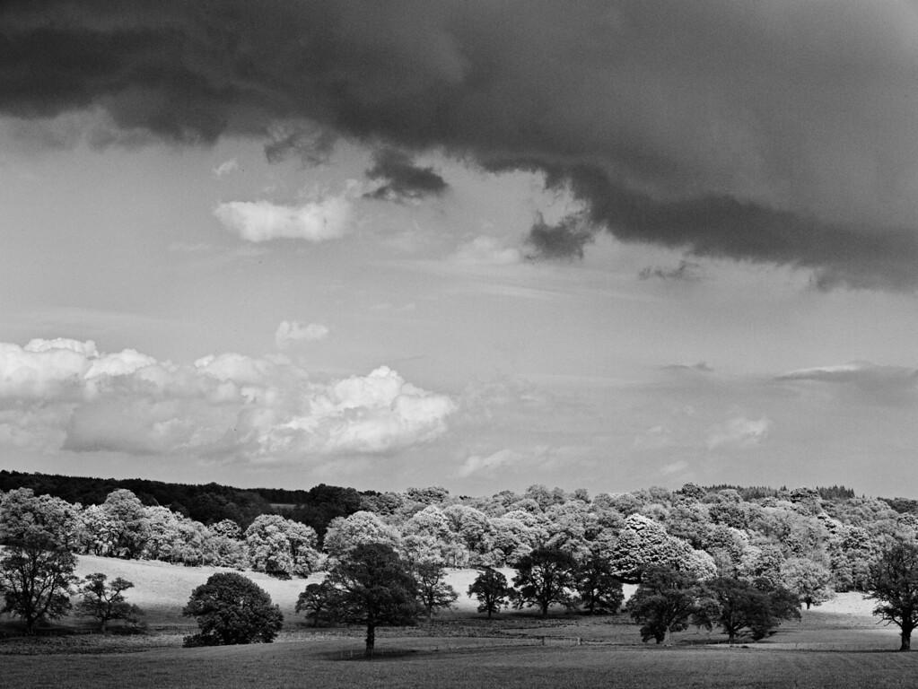 Sunshine and showers, Glenalmond