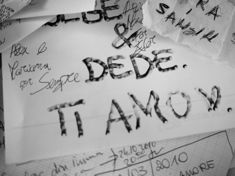 Lover's Note<br /> <br /> Casa di Giulia, Verona