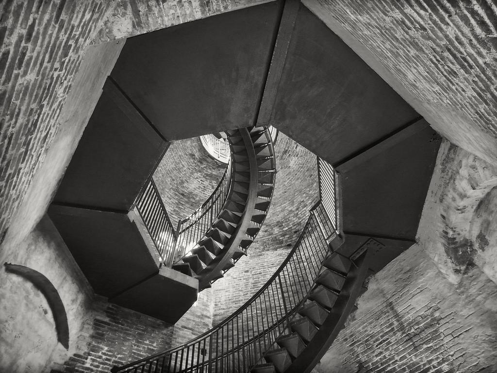 Stairs, Torre dei Lamberti, Verona