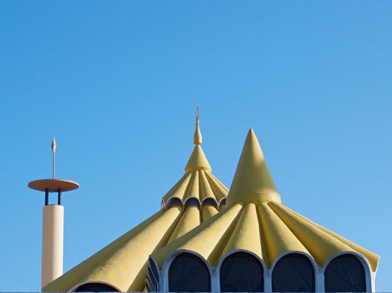 Mosque roofs <br /> <br /> Kuala Belait, Brunei