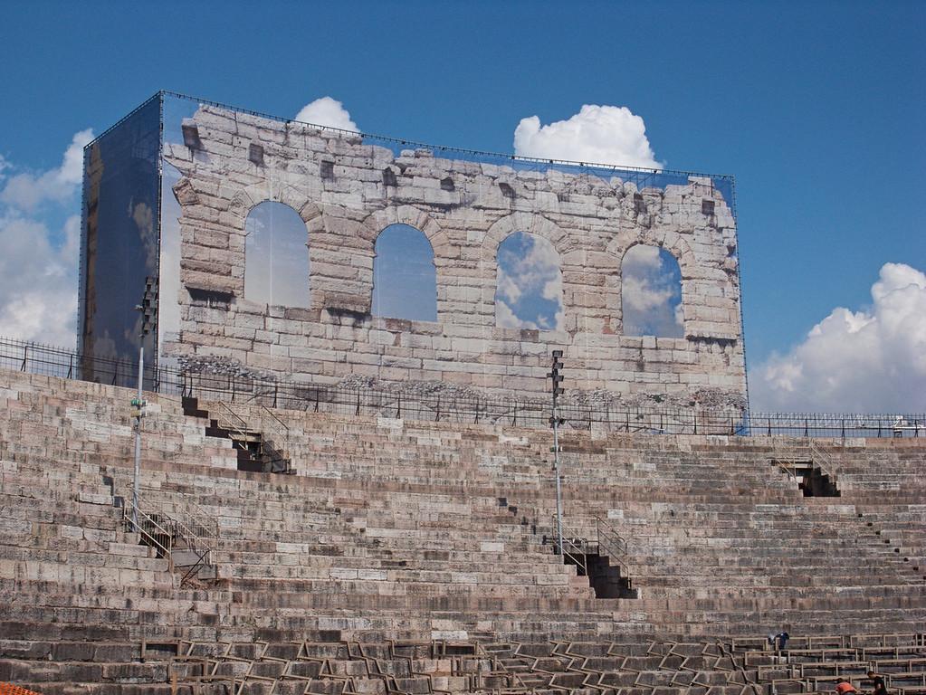 Trompe l'oeil - Verona Amphitheatre