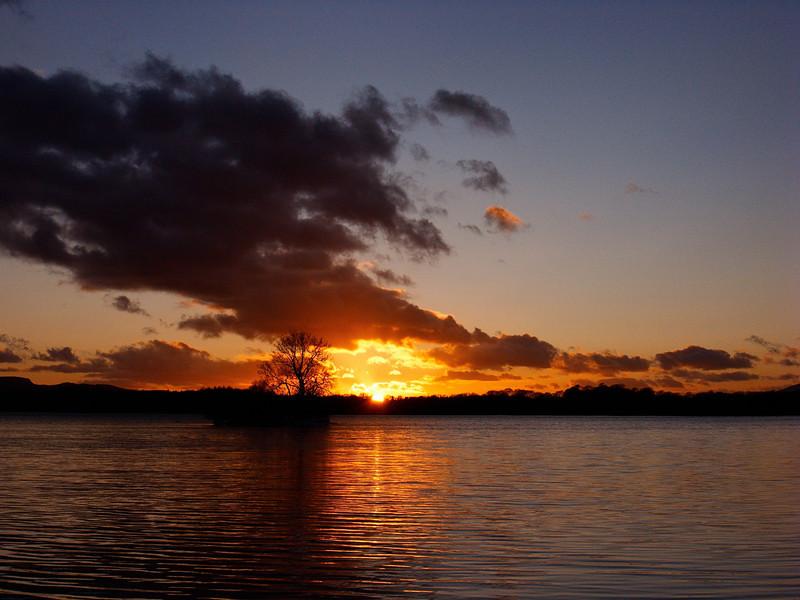 Loch Leven Sunset