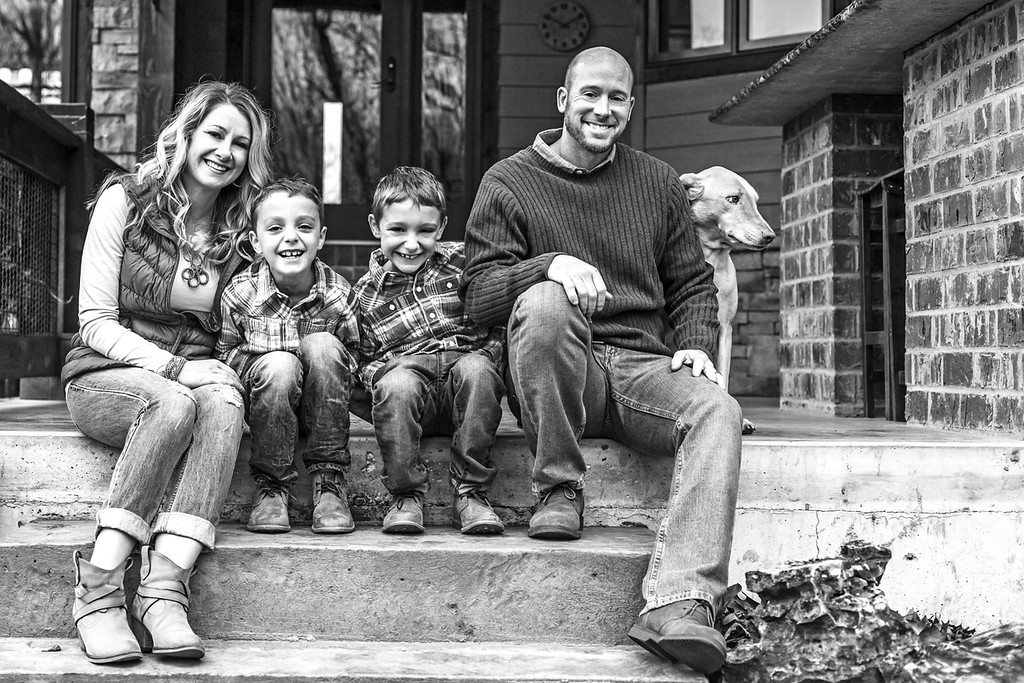 Cates Family 2015-16b&w