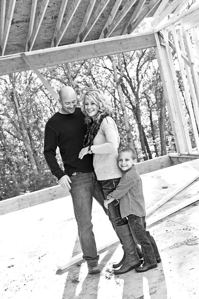 Cates Family 10-2012-3b&w
