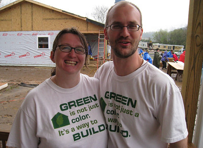 Michelle and John Connor - Michelle is Executive Director of Almost Heaven Habitat for Humanity and John is Development Director of the Habitat affiliate as well as Chair of Fuller Center of Pendleton Co., WV. lcf