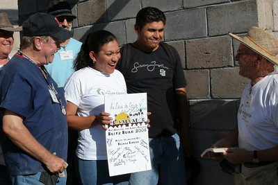 Carlos & Cesia Alvarado house sponsored by Tom Dineen. ev