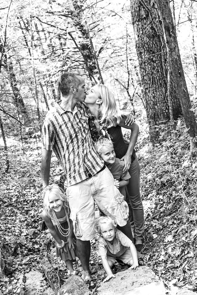 Evans Family-16b&w