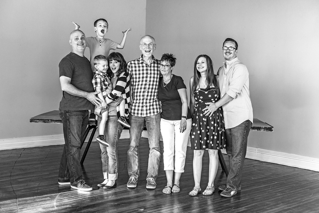 Hungerford Family 2016-19b&w