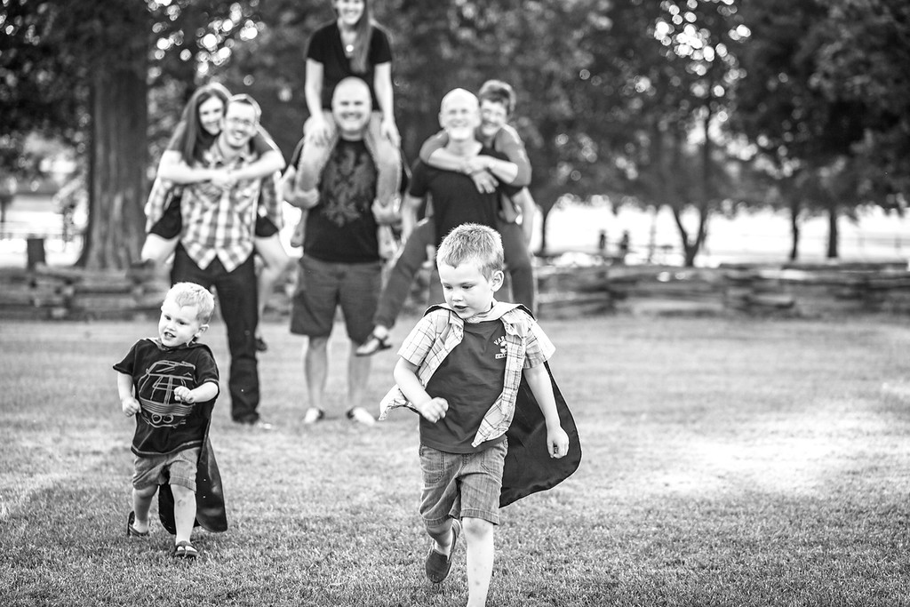 Hungerford Family 2014-33b&w