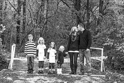 Hutson Family 2013-5b&w