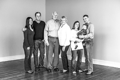 Jackson Family 2016-8b&w