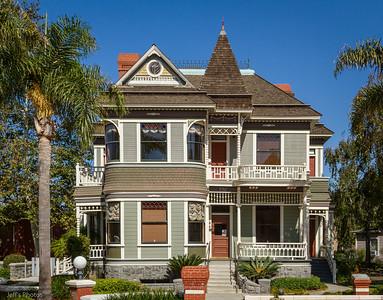 Petit Ranch House, Heritage Square, Oxnard, California.
