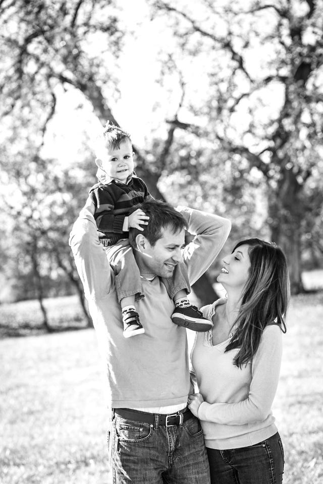 Johnson Family 2015-2b&w