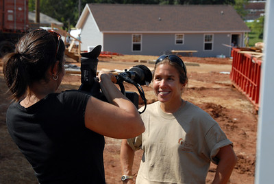 Videographer, Indra Sibal Palmer, interviews MFLB participant from Orland.  crl