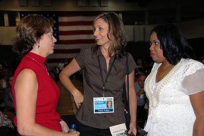 L-R: Gretchen Ferguson of LaGrange, GA, Faith Fuller and Beverly Black
