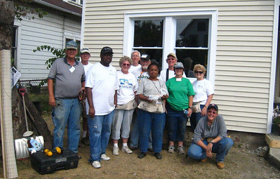 10 09-  Team proud of their work and homeowner delighted. Quite a facelift for her long lived in home.   Frances Meneely