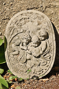 10 09-08 Angels in Molly's garden.   mlj