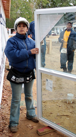 Ana Isabel Tarazona Ramos, a homeowner with Fuller Center Peru.