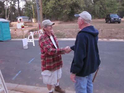 2011 10-11  Charlie welcomes first-timer Paul Degelmann.