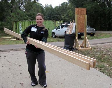 2011 10-18  Carter Federal Credit Union volunteer.