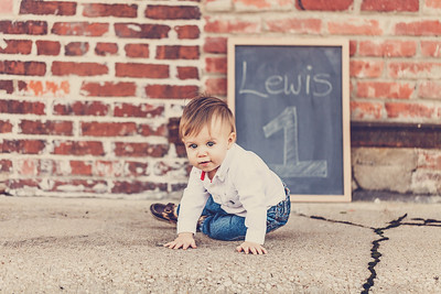 Lewis 1 year old-2coffee