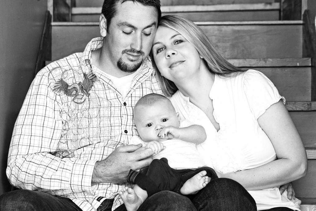 Machin Family 4-2012-13b&w