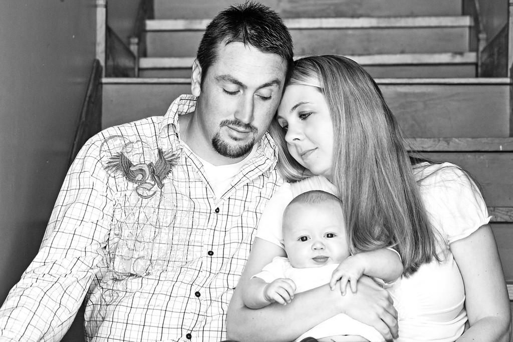 Machin Family 4-2012-11b&w
