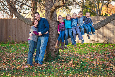 McClure family 2012