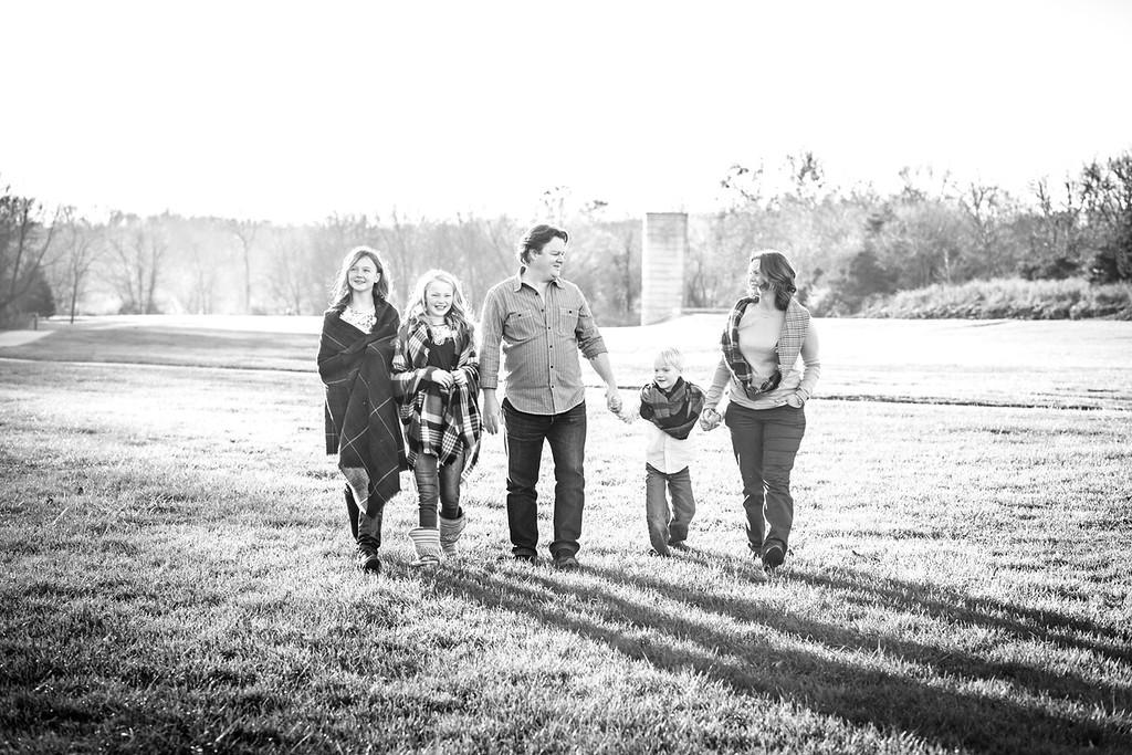 Norman family 2017-14b&w