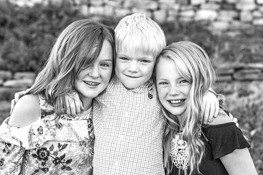 Norman family-33b&w