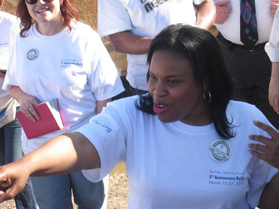 10 03-25  Beverly, youngest daughter of Homeowner Partner Delores Black, introduces members of the family.  LCF 2010 08-06  Mama Black moves in immediately folliwng dedication.   ksf
