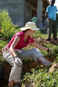 Team member Renee Concilla hard at work.