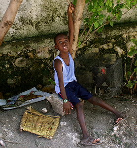 Everyday life in Haiti.