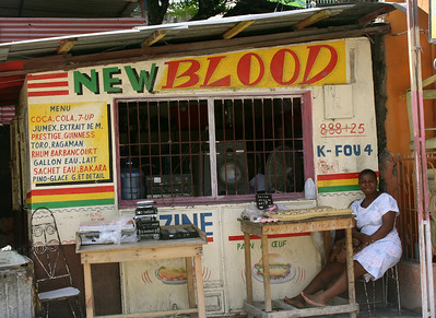 A popular restaurant chain in Haiti.