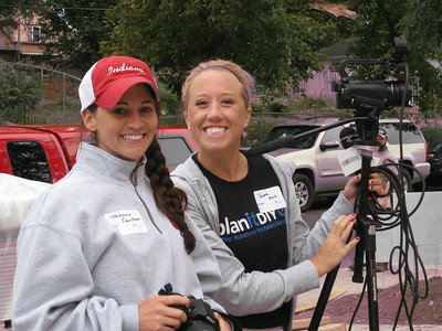 The North American Hardware Retailers Association's Whitney Daulton and Jaime Koch.
