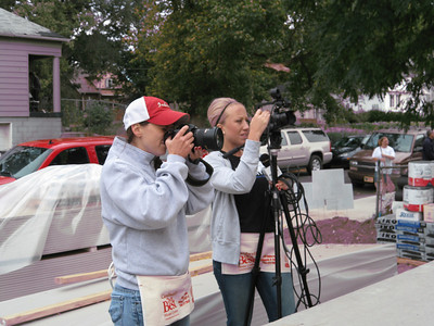 The North American Retail Hardware Association's Whitney Daulton and Jaime Koch document the Fuller Center project in the Fountain Square neighborhood.