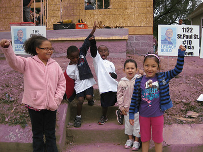 """Children of Fuller Center homeowners give a big """"Oyee!"""""""