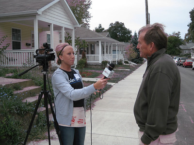 The North American Retail Hardware Association's Jaime Koch interviews Fuller Center for Housing President David Snell.