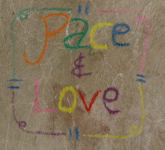 A drawing by one of the children in Grace International's Boy's Home (orphanage).