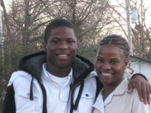 2010 02-18 Homeowner Partner Delisa Robinson and son.