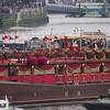 The Queen on the Royal Barge, Thames River Pageant