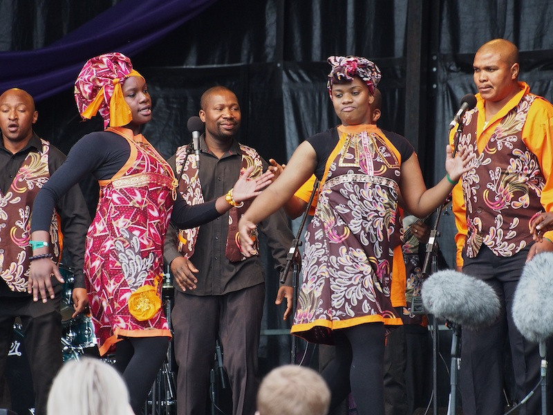 London African Gospel Choir, Commonwealth Stage, Jubilee Family Day