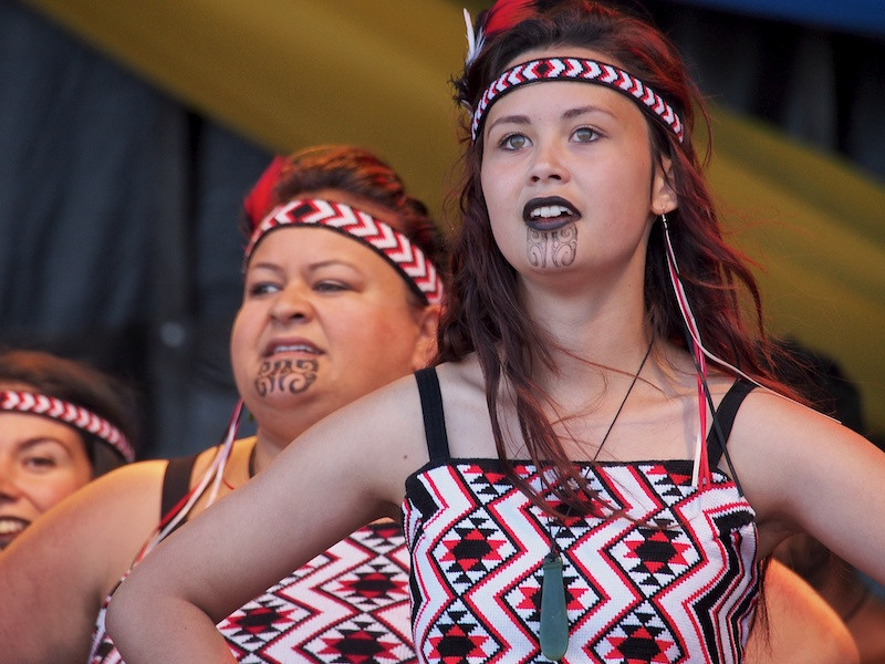 Maori singers, Ngata Ranana, Commonwealth Stage, Jubilee Family Day