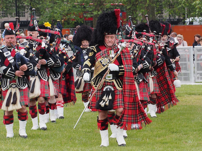 Pipe Band of the Southern Highlanders, Jubilee Family Day (all ex military).